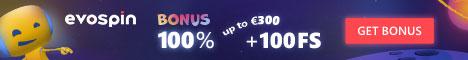 Evospin bonus offer