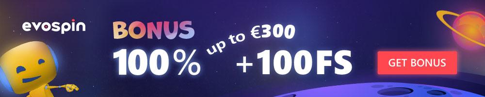 Bonus at EvoSpin Casino