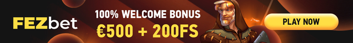 FEZbet Casino Welcome Bonus
