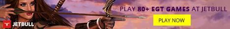 Play EGT slots at Jetbull