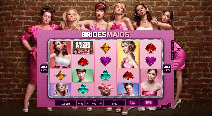 Bridesmaids from Microgaming