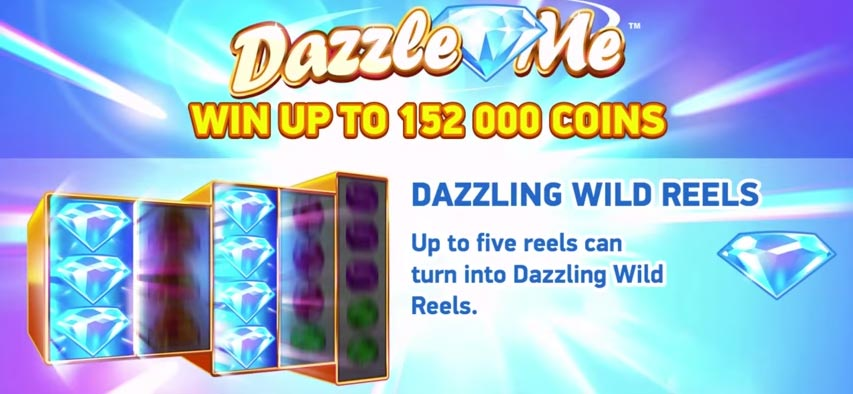 Dazzle Me: Upcoming slot from Net Entertainment
