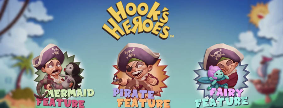Hooks Heroes from NetEnt might get you hooked