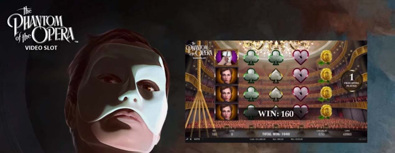 NetEnts Phantom of the Opera Slot Preview