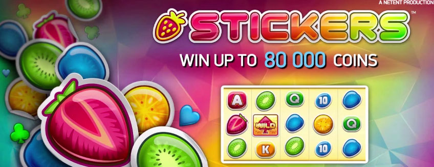 Get stucked with NetEnts latest slot Stickers