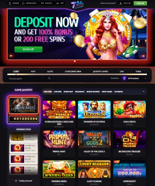 7bitCasino Overview