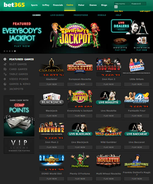 Bet365 Casino Review and Bonus Codes | CasinoGamesOnNet.com