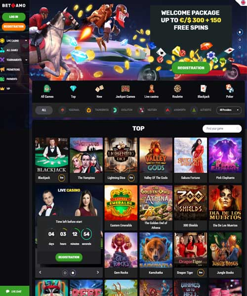 Betamo Casino Review And Rating 2020 Casino Bonus And Bonus