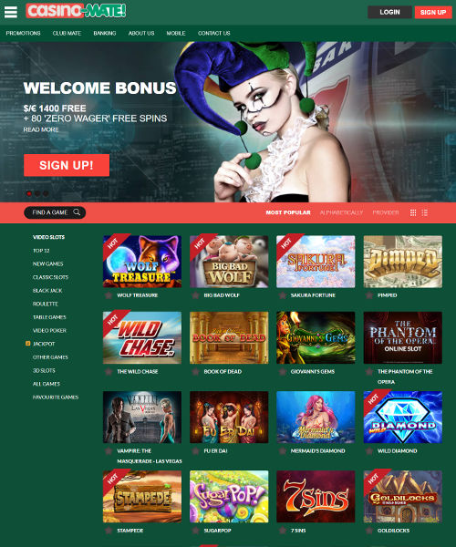 Casino mate mobile download