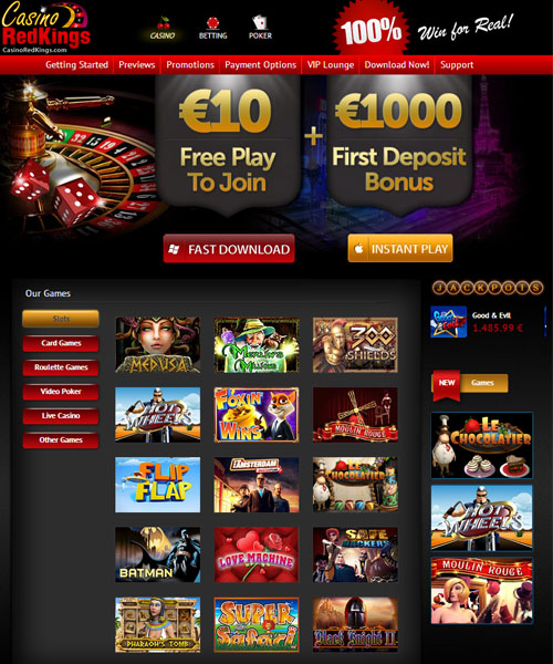 Casino RedKings Overview