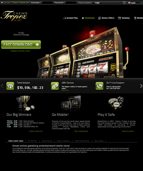 tropez casino download
