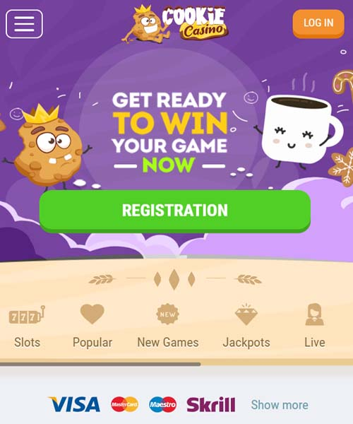 Cookie Casino Overview