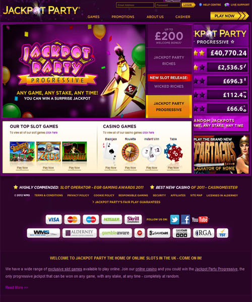 Home / Casino Reviews / Party City Casino