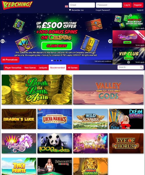 Kerching Casino Review