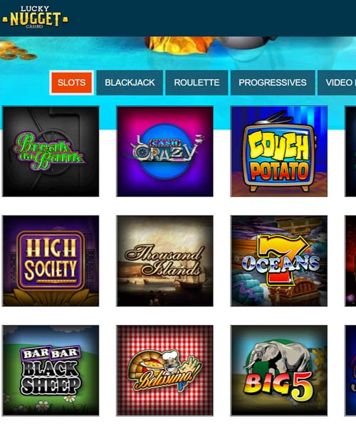 Lucky Nugget Casino Overview