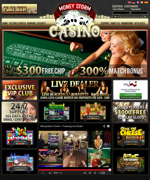 money storm casino no deposit bonus