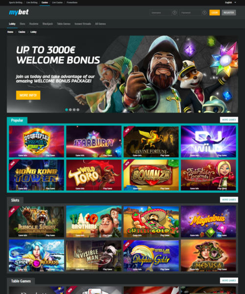mybet casino download
