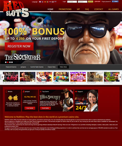 Казино redslots казино в центах