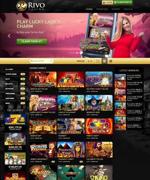 rivo casino bonus code