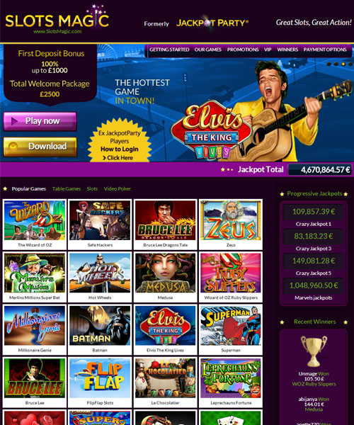 casino slots magic