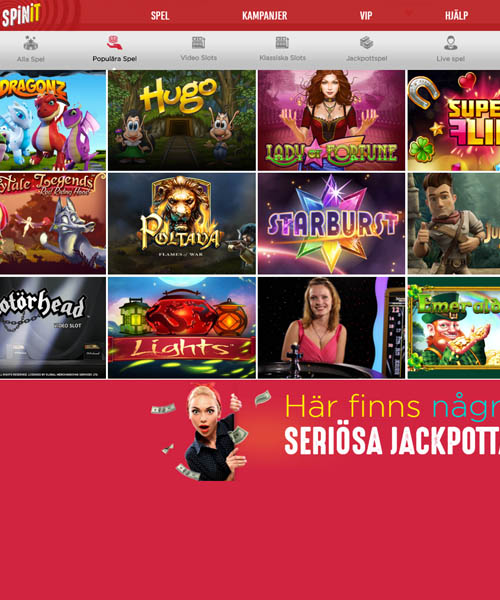 Spinit Casino Overview