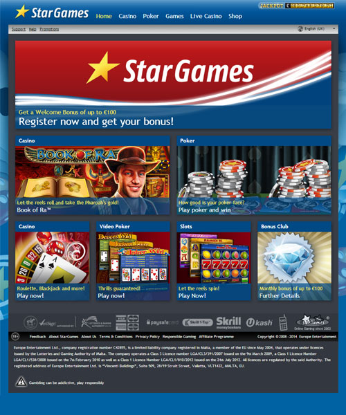online casino bonuses europe entertainment ltd