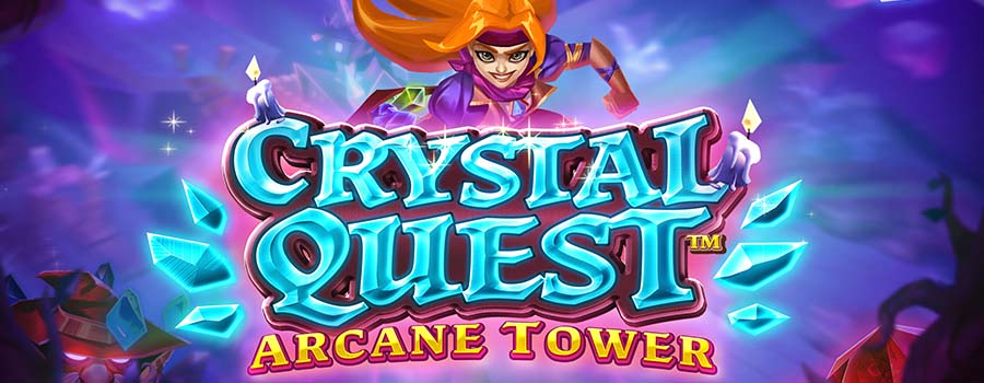 Crystal Quest Arcane Tower slot review