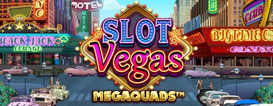 Slot Vegas Megaquads slot review