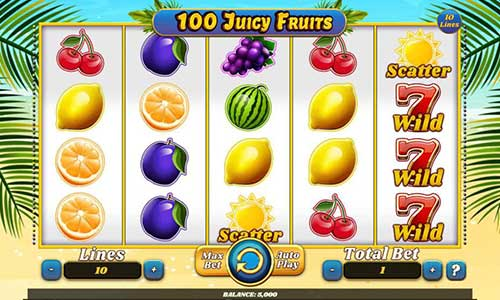 100 Juicy Fruits slot