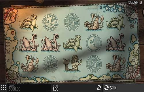 1429 Uncharted Seas Videoslot Screenshot