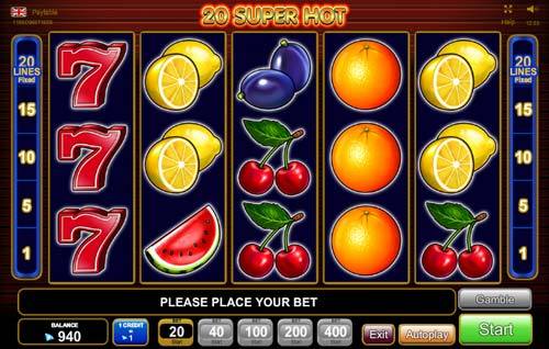 de online casino sizzling game