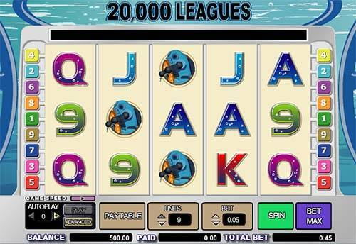 20000 Leagues slot
