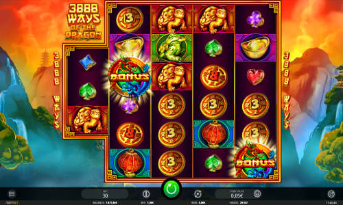3888 Ways of the Dragon slot free play demo is not available.