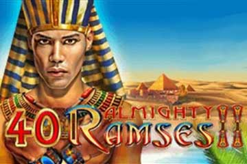 40 Almighty Ramses 2 slot free play demo