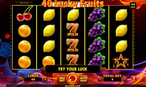 40 Lucky Fruits slot