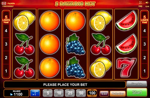 5 Dazzling Hot slot free play demo