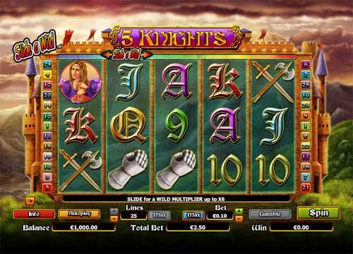 5 Knights slot
