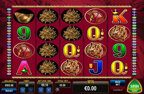 play 50 dragons slots free play