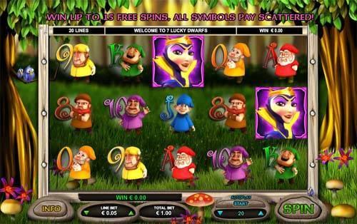 7 Lucky Dwarfs slot free play demo