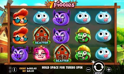 7 Piggies Videoslot Screenshot