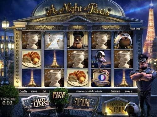 A Night in Paris - BetSoft Slots - Rizk Online Casino Sverige
