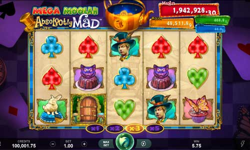 absolootly mad mega moolah slot overview and summary