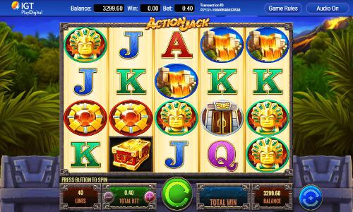 Action Jack Videoslot Screenshot