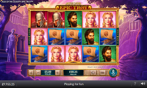 Age of the Gods Epic Troy slot