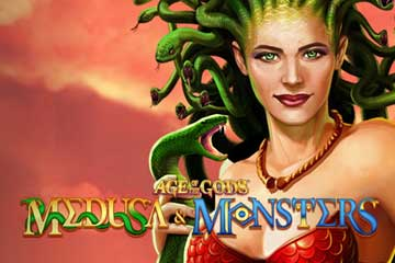Age of the Gods Medusa and Monsters slot free play demo