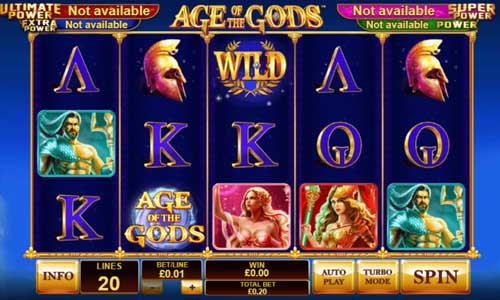 age of the gods slot overview and summary