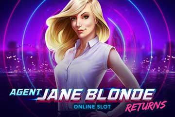 Agent Jane Blonde Returns slot free play demo