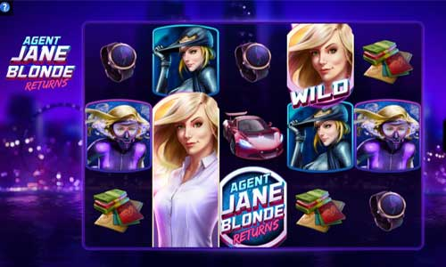 Agent Jane Blonde Returns Videoslot Screenshot