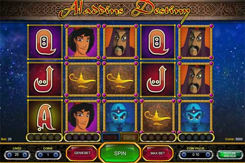 Aladdin's Destiny Slot - Play for Free Online Today