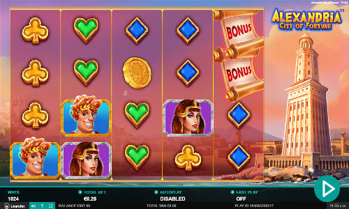 Alexandria City of Fortune slot